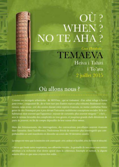 Coco Hotahota – Heiva i Tahiti i To'ata